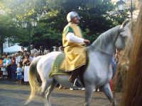 Buccheri, Medfest 2006. Corteo. Un cavaliere.  - Buccheri (1625 clic)