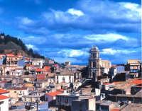 Panorama con nuvole blu.  - Buccheri (2555 clic)