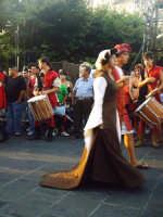 Buccheri, Medfest 2006. Corteo e tamburi.  - Buccheri (1748 clic)