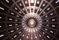Volta interna del santuario della Madonna delle lacrime.  - Siracusa (2089 clic)