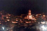 Veduta di notte con la chiesa di S.Antonio.  - Buccheri (1909 clic)