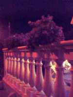 Davanzale fiorito by night.  - Punta secca (2335 clic)