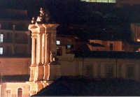 Chiesa di S.Maria Maddalena, di notte.  - Buccheri (1887 clic)