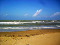 La spiaggia di Punta Secca, effetto vento.  - Punta secca (4703 clic)