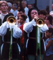Trombe al Medfest.  - Buccheri (2826 clic)