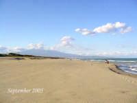 spiaggia baia dei mori con sfondo l'etna  - Vaccarizzo (13366 clic)