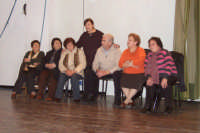 Laboratorio teatrale organizzato dal teatro Libero di Palermo. Teatro Comunale di San Mauro. SAN MAU