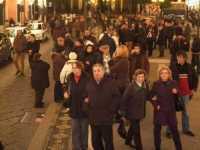 16 gennaio 2010 Pellegrinaggio della comunità maurina in onore della festa di San Mauro Abate a Viagrande.  - Viagrande (5998 clic)