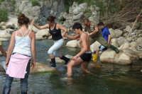 Traversata del fiume Pollina  - San mauro castelverde (4571 clic)