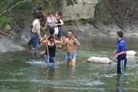 Traversata del fiume Pollina  - San mauro castelverde (5410 clic)