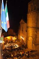 Concerto musicale in onore dei festeggiamenti di San Mauro Abate della banda di Acireale. Piazza municipio 2 luglio 2007  - San mauro castelverde (1665 clic)