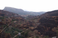 Quello che resta del bel paesaggio che circonda Collesano dopo gli incendi di agosto.  - Collesano (2874 clic)