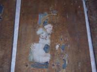 Particolare di una Pala dall'Altare dedicata alla Madonna con Bambino. L'opera, che oggi dopo il restauro avvenuto a Firenze si trova nella chiesa di Santa Maria, originariamente era ubicata nella chiesetta di San Nicolò, una delle più antiche del paese. La Pala è di scuola senese, risale quasi sicuramente al XIV secolo.  - San mauro castelverde (1048 clic)