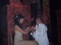 FIORDALISO E FEBO. Musical Notre Dame de Paris realizzato da un gruppo di ragazzi di San Mauro. Piazza Municipio 26 agosto 2006.  - San mauro castelverde (2829 clic)