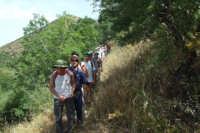 Escursione CAI: Trazzere, cappelle votive e antichi casali- 24 giugno 2007  - San mauro castelverde (1993 clic)
