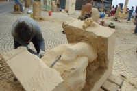 II Happening di scultura a Finale di Pollina. Organizzato da Mimmo Castiglia dal 1 al 4 maggio 2008.  - Pollina (2931 clic)