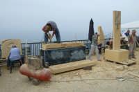 II Happening di scultura a Finale di Pollina. Organizzato da Mimmo Castiglia dal 1 al 4 maggio 2008.  - Pollina (3280 clic)