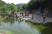 Traversata del fiume Pollina e delle Gole di Tiberio.  - San mauro castelverde (6003 clic)