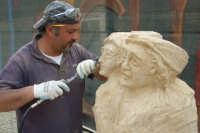 II Happening di scultura a Finale di Pollina. Organizzato da Mimmo Castiglia dal 1 al 4 maggio 2008.  - Pollina (3235 clic)
