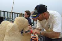 II Happening di scultura a Finale di Pollina. Organizzato da Mimmo Castiglia dal 1 al 4 maggio 2008.  - Pollina (3772 clic)
