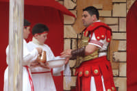 A Visària (Via Crucis vivente) organizzata dall'Associazione Culturale e Musicale l'Eremo.  - San mauro castelverde (3482 clic)