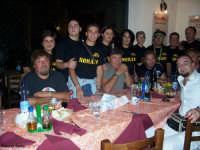 I Nomadi con il gruppo del fans I Vulcani di San Mauro Castelverde. Foto Giovanni sarlo  - San mauro castelverde (2253 clic)