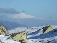 Etna  Etna visto da Pizzo Di Fao 1530 metri. Trekking Associaizone Sportiva Madonie Outdoor  - Madonie (3179 clic)