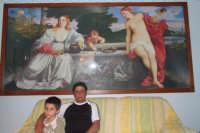 Mario Venturella ha costruito un puzzle da guinness da primato. I pezzi del quadro Amor sacro e amor profano di Tiziano sono più di 13200 (tredicimiladuencento), il tempo impiegato per la realizzazione è di circa 2 anni.  - San mauro castelverde (6407 clic)