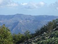 San Mauro  Castelverde visto dalle Madonie Escursione organizzata dall'Associaizone Sportiva Madonie Outdoor  - San mauro castelverde (1998 clic)