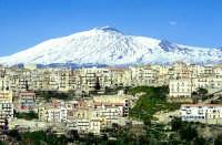Panoramica contrada Quartarieddu, con vista dell'Etna  - Centuripe (8388 clic)