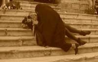 CORTEO STORICO DI SANTA RITA - Rita piage la morte del marito Paolo di  Ferdinando   - Castelvetrano (5804 clic)