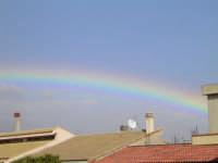 Arcobaleno sui tetti  - Comiso (2918 clic)