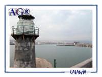 Vista dal porto  - Catania (2141 clic)