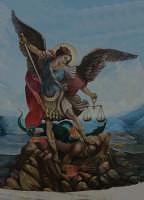 Dipinto di san Michele Arcangelo che si trova nella chiesa madre del purgatorio a CanicattiniBagni (SIRACUSA )  - Canicattini bagni (21322 clic)