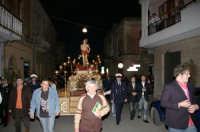San Sebastiano in processione per le vie del paese che si festeggia  l'ultima domenica di aprile (CANICATTINIBAGNI)  - Canicattini bagni (4639 clic)