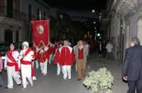 La confraternita di Avola in processione per rendere omaggio a San Sebastiano x le vie del paese che si festeggia  l'ultima domenica di aprile (CANICATTINIBAGNI)  - Canicattini bagni (4321 clic)