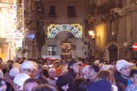 20 Gennaio 2006 san.Sebastiano,minuti prima di fare rientro in basilica  - Acireale (1500 clic)