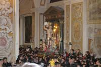 20 Gennaio 2006 san.Sebastiano,rientra  in basilica  - Acireale (2068 clic)
