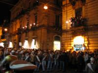 20 Gennaio 2006 san Sebastiano :corso Unberto inizia l^uscita di via Roma   - Acireale (1873 clic)