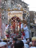 20 Gennaio 2006 ,san Sebastiano arriva in piazza Marconi  - Acireale (1547 clic)