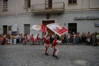 SBANDIERATORI  X LE VIE DELLA CITTA' DI RANDAZZO 15 AGOSTO 2006  - Randazzo (1934 clic)