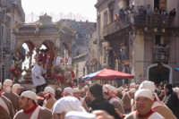 20 Gennaio 2006. san.Sebastiano parte x la trionfale uscita  - Acireale (1541 clic)
