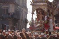 20 Gennaio 2006. san.Sebastiano in corsa x la trionfale uscita  - Acireale (1311 clic)