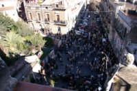 20 Gennaio 2006. san.Sebastiano arriva in piazza san Michele,visto dal campanile del ononimo san Michele  - Acireale (1911 clic)