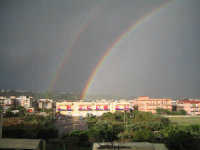 DOPPIO ARCOBALENO SU TORREGROTTA  - Torregrotta (6787 clic)