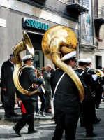Banda,durante la festa di S.Giuseppe  - Valguarnera caropepe (3599 clic)