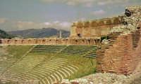 Una foto del 1959 - Teatro greco.  - Taormina (5280 clic)