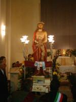 Giovedì Santo-Sosta dell'Ecce Homo nella chiesa del S.S.Rosario.  - Riesi (6949 clic)