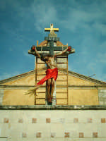 Venerdì Santo-Pomeriggio-Lu Signuri crocifisso al Calvario.  - Riesi (12797 clic)