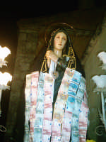 Venerdì Santo-Sera-L'Addolorata al Calavario....in attesa dell'Acinnenza de Lu Signuri dalla croce.   - Riesi (10002 clic)